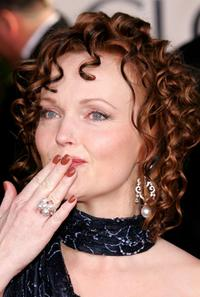 Miranda Richardson at the 62nd Annual Golden Globe Awards.
