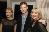 Natasha Richardson, Liam Neeson and Kim Cattrall at the Cinema Society after party for