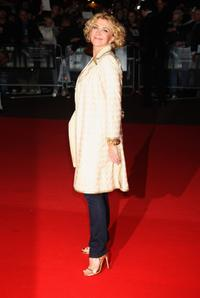 Natasha Richardson at the BFI 52 London Film Festival premiere of