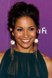 Salli Richardson at the Sci Fi Channel 2008 Upfront Party.