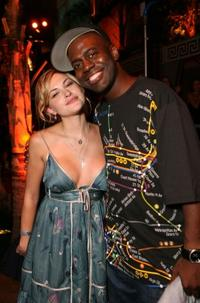 Amanda Loncar and Deon Richmond at the after party of the Hollywood premiere of