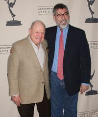 Don Rickles and Director John Landis at the