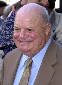 Don Rickles at the Hollywood Walk of Fame.