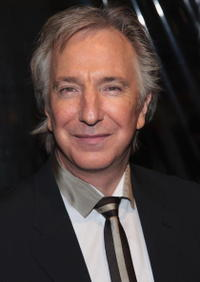 Actor Alan Rickman at the N.Y. premiere of