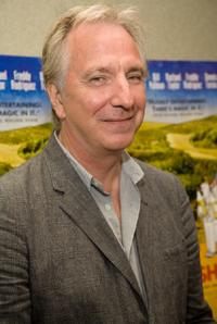 Alan Rickman at the special screening of
