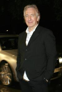 Alan Rickman world premiere of