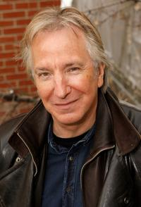 Alan Rickman at the during the 2008 Sundance Film Festival.