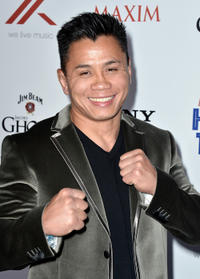 Cung Le at the Maxim Hot 100 Party in California.