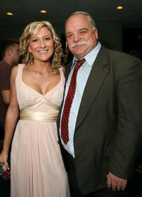 Pamela Noble and Richard Riehle at the after party for the premiere of