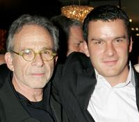 Ron Rifkin and Balthazar Getty at the West Coast opening of works by artist Russel Young entitled