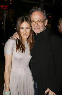 Ron Rifkin and Sarah Jessica Parker at the after party of the world premiere of