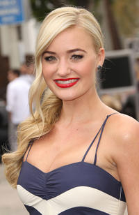 AJ Michalka at the California premiere of