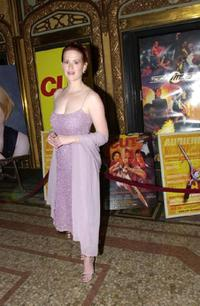 Molly Ringwald at the premiere of the