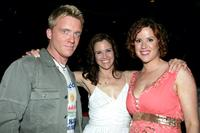Molly Ringwald, Anthony Michael Hall and Ally Sheedy at the 2005 MTV Movie Awards.