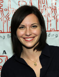 Jill Flint at the HELP USA and Oneida Indian Nation Feed Hundreds of NYC's Homeless for