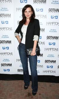 Jill Flint at the Hamptons and Gotham Magazine's summer celebration.