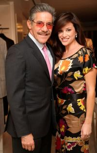 Geraldo Rivera and Erica Levy at the New Yorkers for Children reception hosted by Vogue.