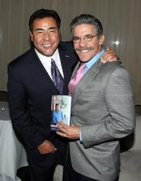John Quinones and Geraldo Rivera at the