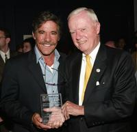Geraldo Rivera and Amo Houghton at the 2004 Congressional Spotlight Award.