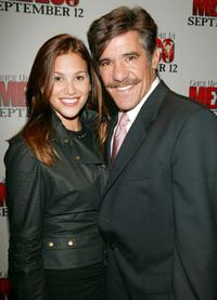 Geraldo Rivera and his wife at the New York premiere of