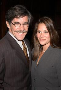 Geraldo Rivera and Erica Levy at the National Mentoring Month reception.