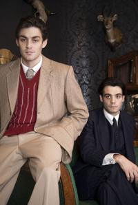 Matthew McNulty as Luis Bunuel and Javier Beltran as Federico Garcia Lorca in
