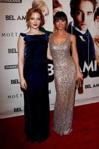 Holly Grainger and Christina Ricci at the