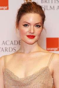 Holly Grainger at the Orange British Academy Film Awards 2012 in London.