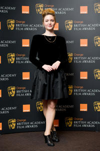 Holly Grainger at the nominations announcement of Orange British Academy Film Awards 2012 in London.