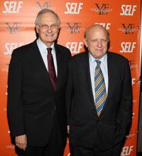Alan Alda and Floyd Abrams at the New York screening of