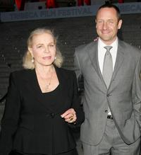 Lauren Bacall and Sam Robards at the Vanity Fair 2007 Tribeca Film Festival party.