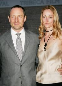 Sam Robards and wife Sidsel at the Vanity Fair 2007 Tribeca Film Festival party.