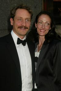 Sam Robards and Guest at the 56th Annual Tony Awards.