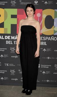 Blanca Suarez at the 12th Malaga Film Festival presentation party.