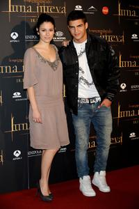 Blanca Suarez and Maxi Iglesias at the premiere of