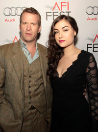 Thomas Jane and Sasha Grey at the premiere of