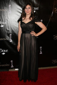 Mayim Bialik at the 36th Annual Gracie Awards Gala in California.
