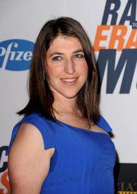Mayim Bialik at the 17th Annual Race to Erase MS event.
