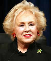 Doris Roberts at the PBS segment of the Television Critics Association Winter Press Tour panel discussion.