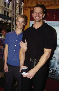Ian Roberts and partner at the Australian premiere of