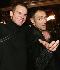 Ian Roberts and Vicent Stone at the Sydney Film Festival Opening Night.