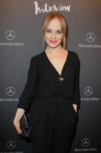 Friederike Kempter at the Interview Germany Launch party.