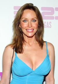 Tanya Roberts at the unveiling of music artist Prince's 3121 live entertainment venue.
