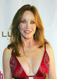 Tanya Roberts at the opening night performance of
