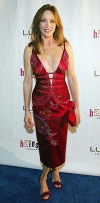 Tanya Roberts at the opening night performance of the Broadway musical