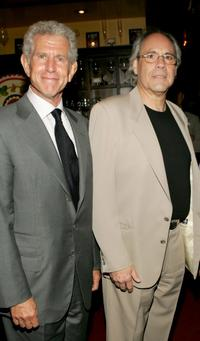 Tony Roberts and Robert Klein at the opening of