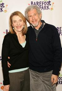 Tony Roberts and Jill Clayburgh at the photocall for the Broadway revival of Neil Simon's