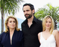 Catherine Deneuve, Rasha Bukvic and Ludivine Sagnier at the photocall of
