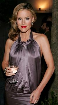 Kathleen Robertson at the after party for the New York world premiere of