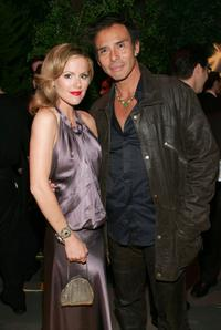 Kathleen Robertson and Raoul Trujillo at the after party for the New York world premiere of